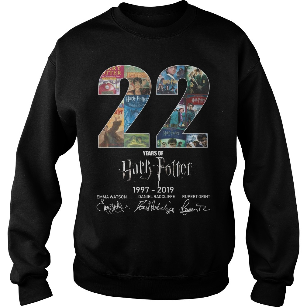 22 Years Of Harry Potter 1997 2019 Sweater