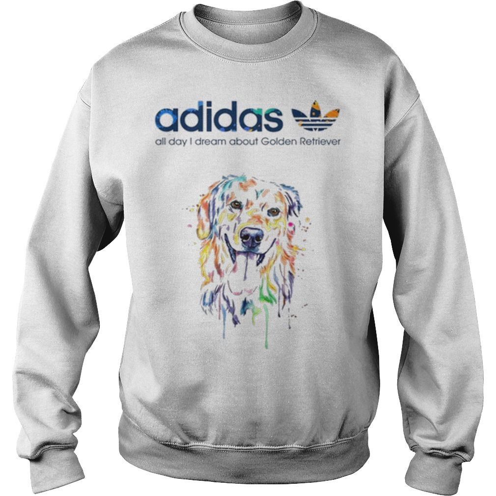 Adidas All Day I Dream About Golden Retriever Sweater