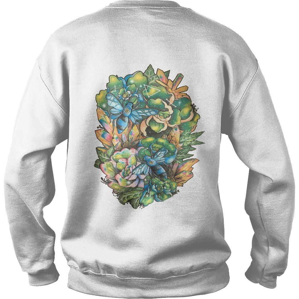 Alisa Blue Honey Back Sweater