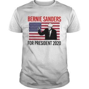 American Flag Bernie Sander For Presidents 2020 Shirt