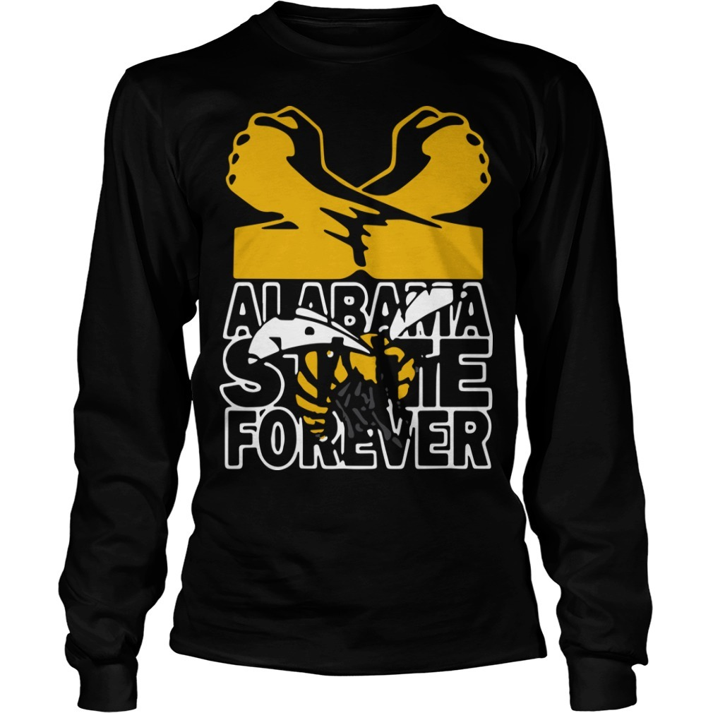 Bee Alabama State Forever Long Sleeve Tee