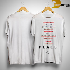 Braden Holtby Peace Shirt