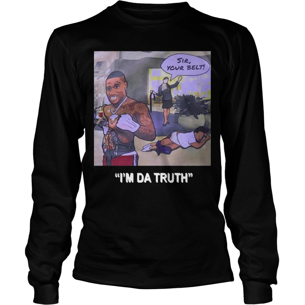 DaBaby I'm Da Truth Long Sleeve Tee