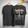Goodfellas 29th Anniversary 2019 1990 Signatures Shirt