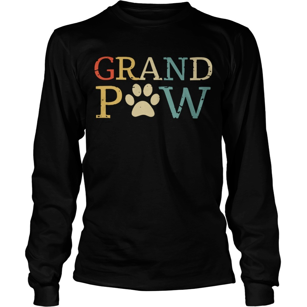 Grandpa Paw Long Sleeve Tee