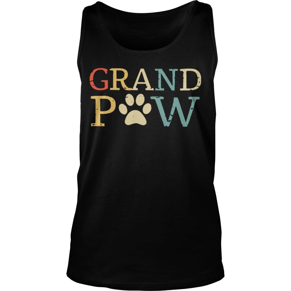 Grandpa Paw Tank Top