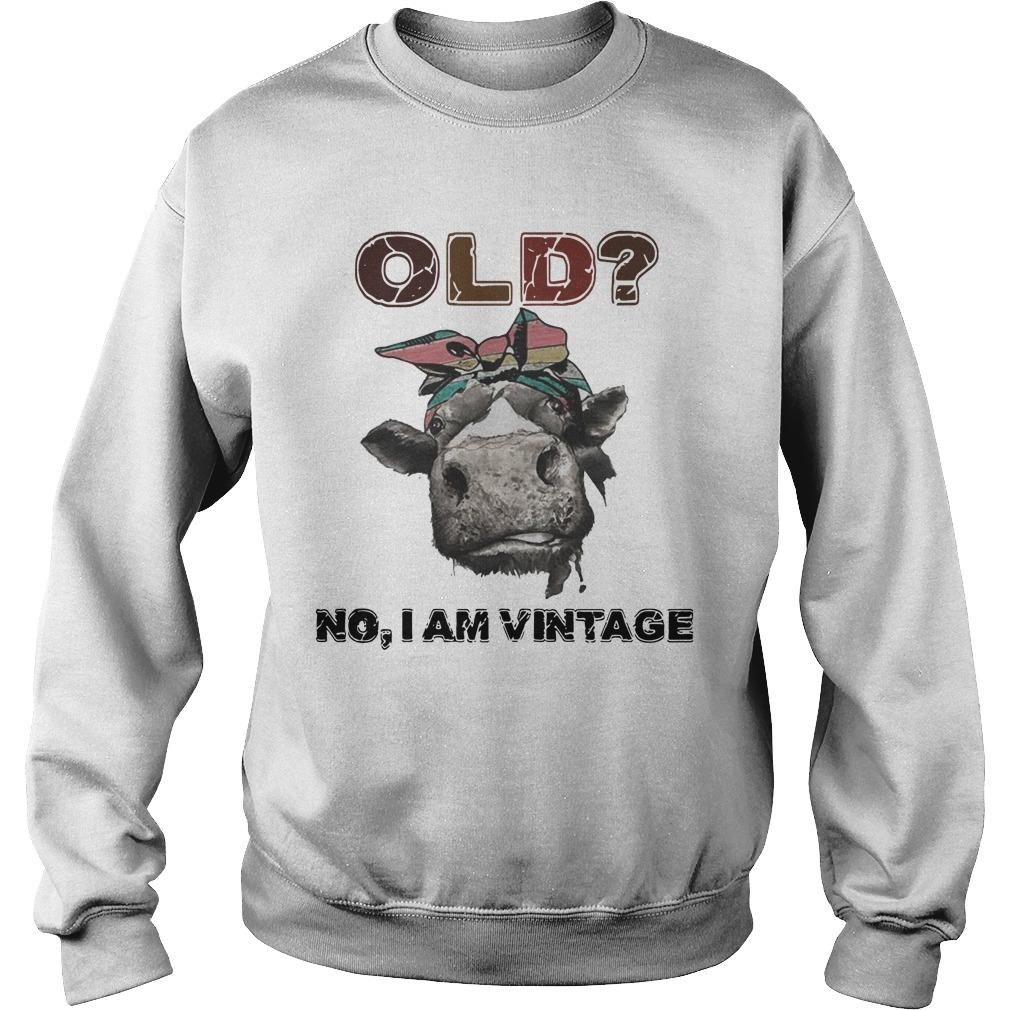 Heifer Old No I Am Vintage Sweater