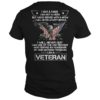 I Am A Man I Am Not A Hero But I Have Served With A Afew I Will Never Quit Veteran Shirt