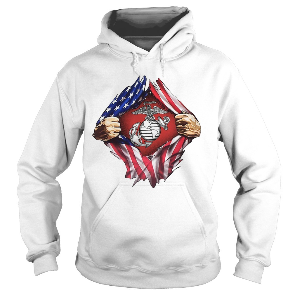 Independence Day American Flag Mr Classic Hoodie