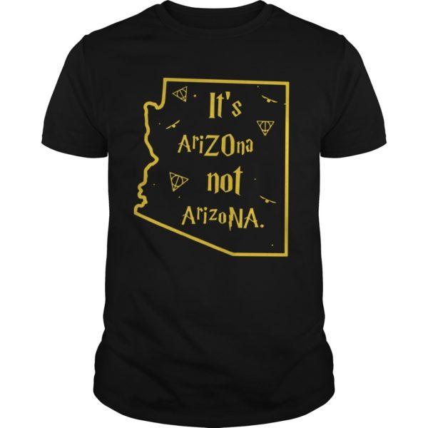 It's AriZOna Not ArizoNA Shirt
