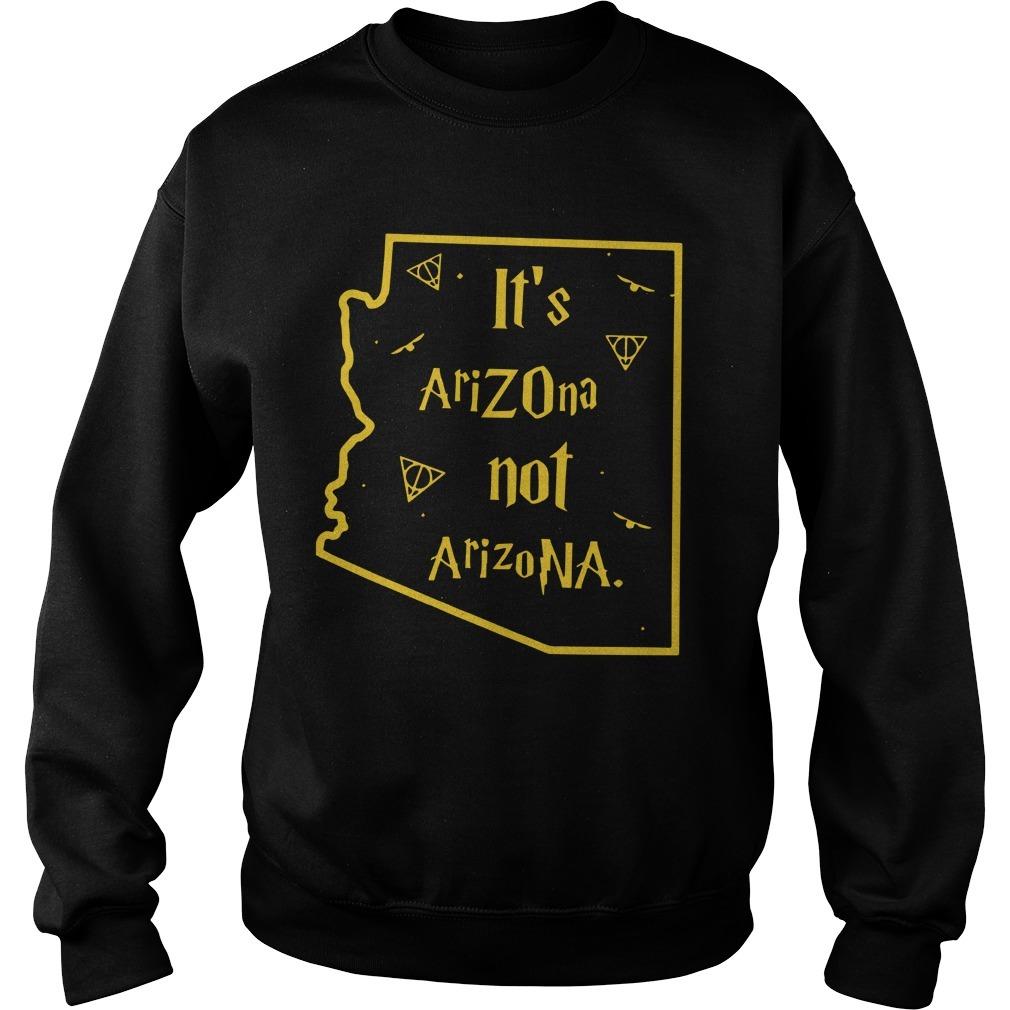 It's AriZOna Not ArizoNA Sweater