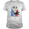 Jack Skellington American Flag Shirt