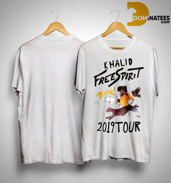 Khalid Free Spirit 2019 Tour Shirt