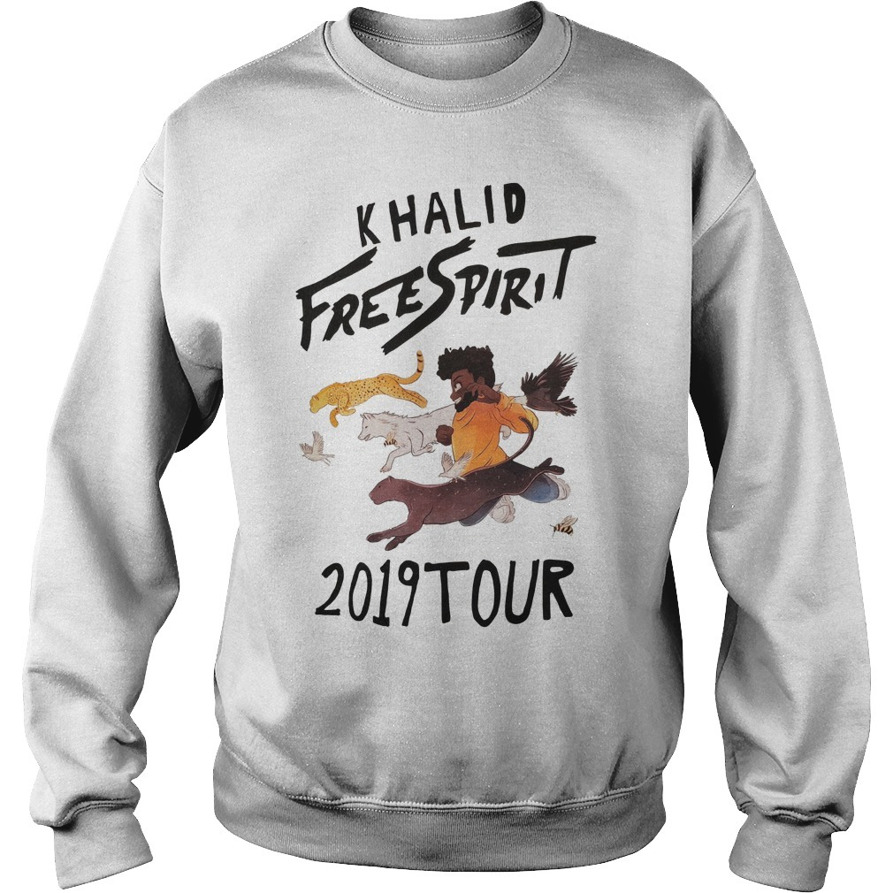 Khalid Free Spirit 2019 Tour Sweater