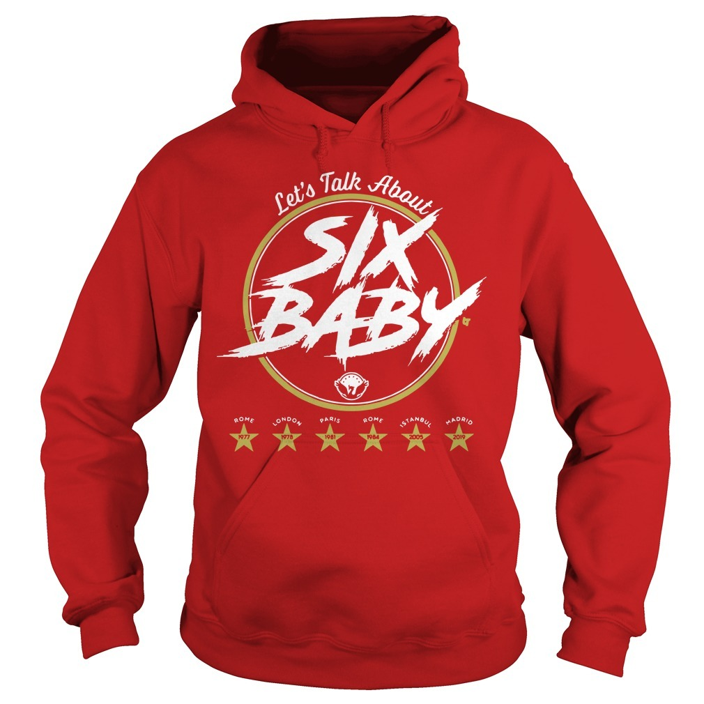Let's Talk ALet's Talk About Six Baby Hoodiebout Six Baby Hoodie