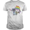 Lgbt Flag Stitch Shirt