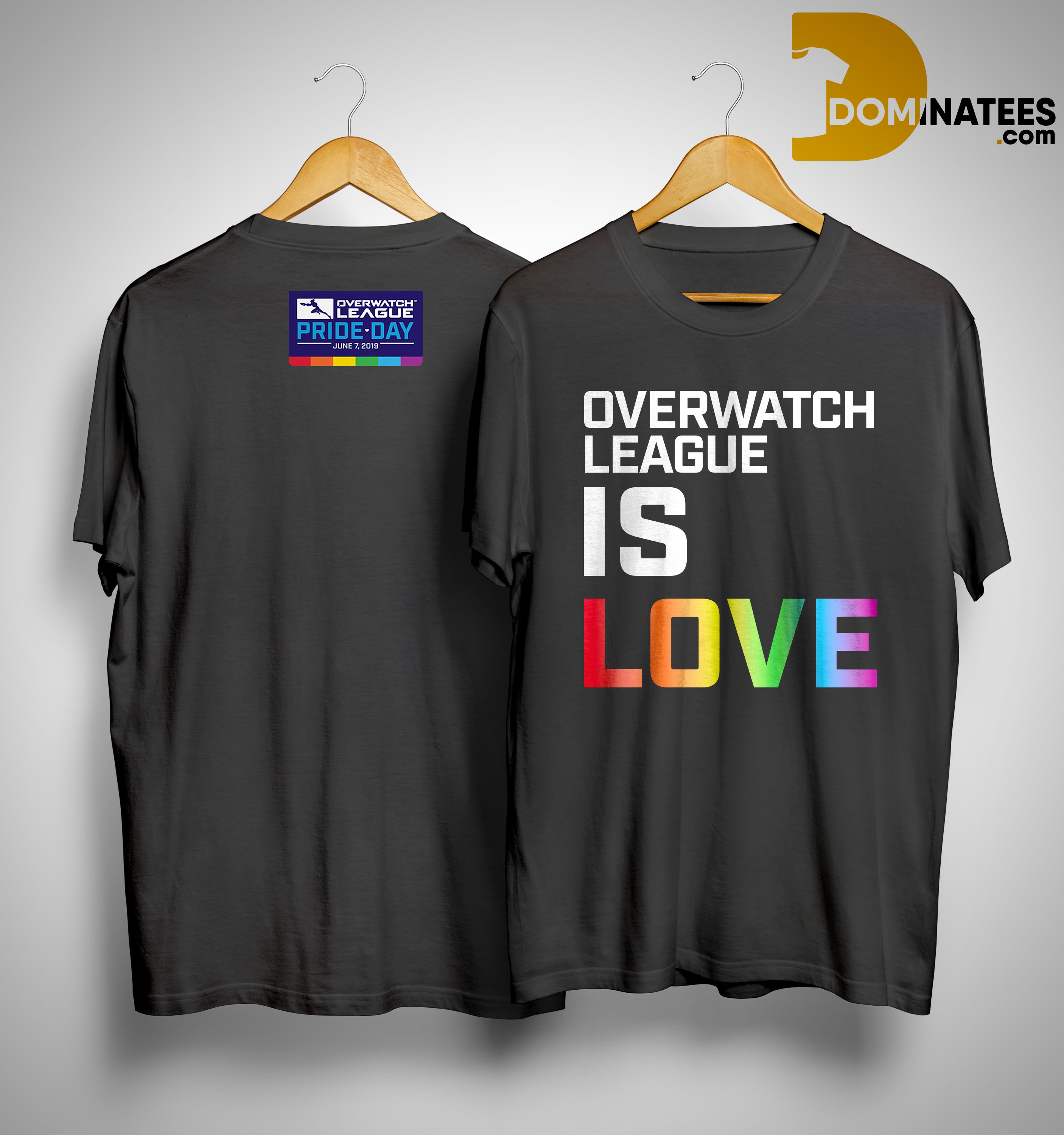 Lgbt Pride Day Overwatch League Is Love Shirt