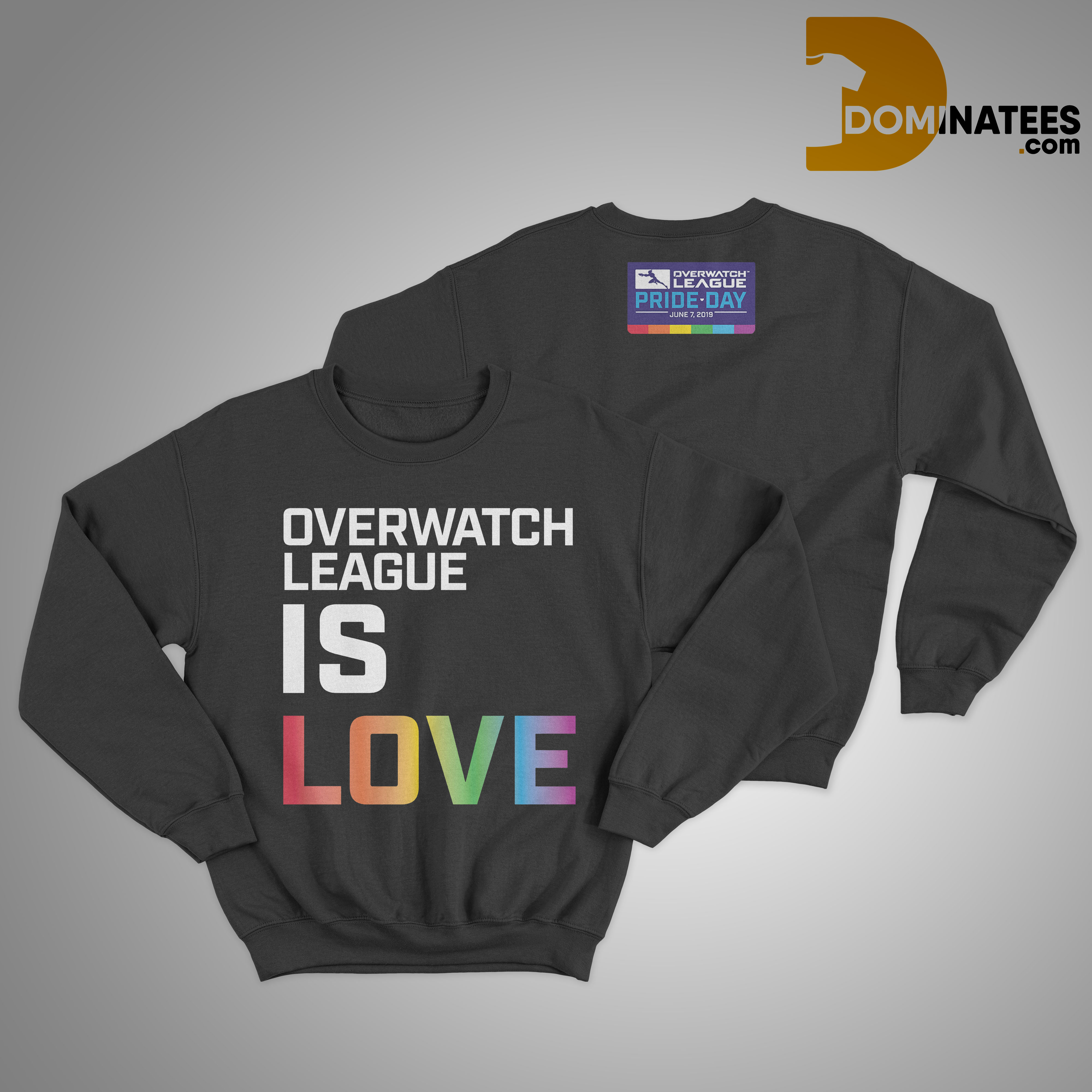 Lgbt Pride Day Overwatch League Is Love Sweater