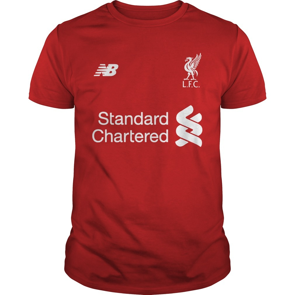 Liverpool Fc Standard Chartered Cup 1977 1978 1981 1984 2005 2019 Shirt