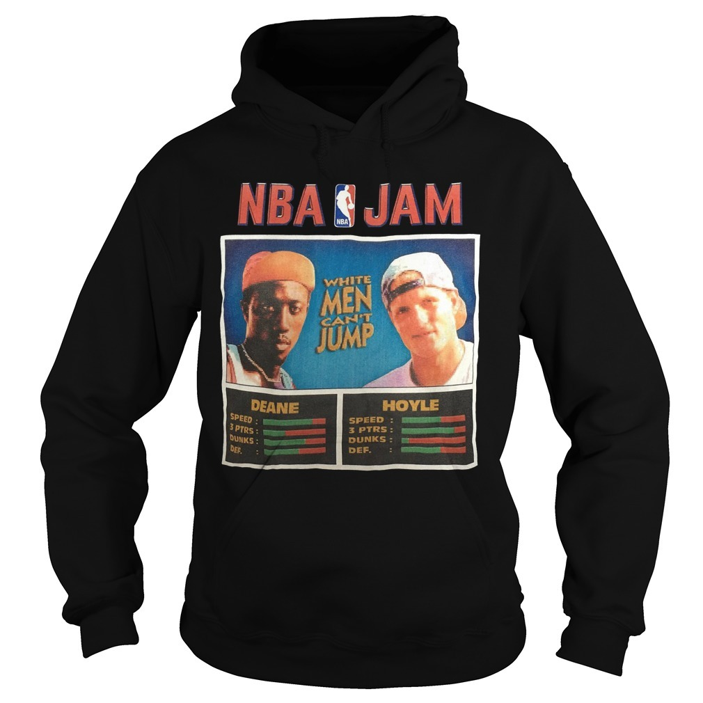 NBA Jam Deane Hoyle White Men Can't Jump Hoodie