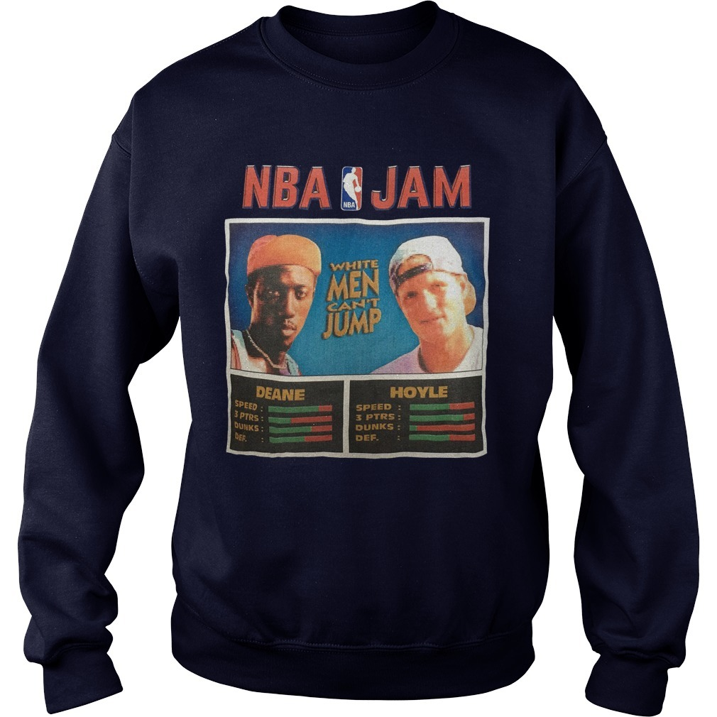 NBA Jam Deane Hoyle White Men Can't Jump Sweater