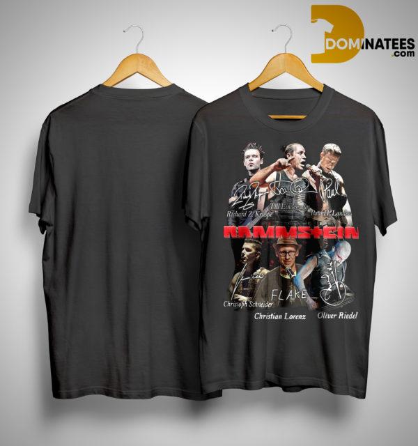 Rammstein Flake Signature Shirt