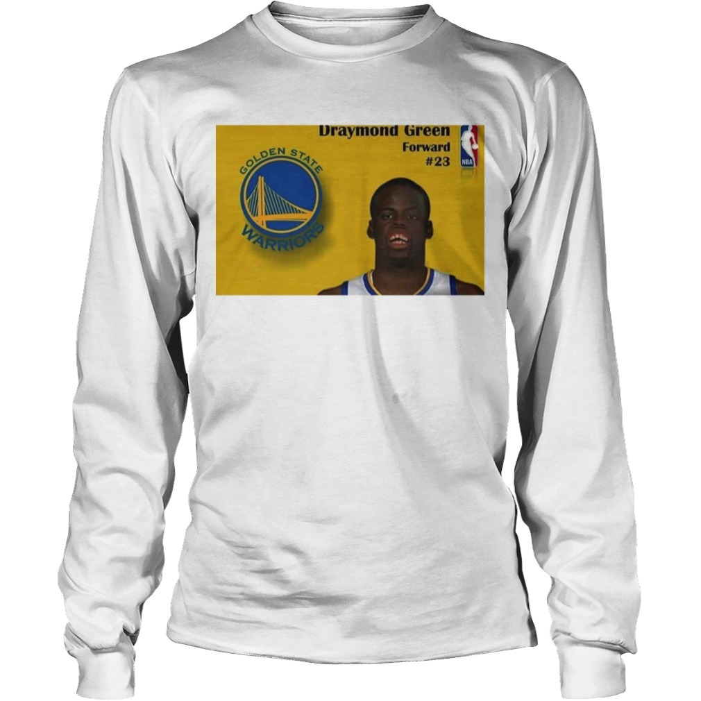 Raptors Fan Draymond Welvin Long Sleeve Tee