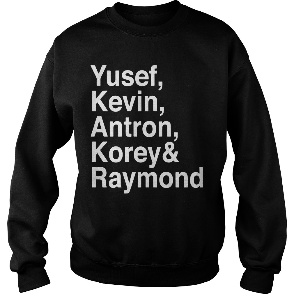Raymond Santana Central Park 5 Sweater