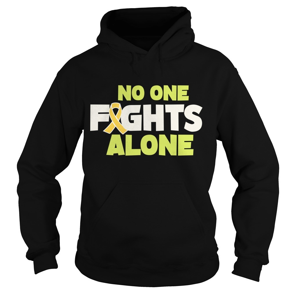 Rob Gronkowski Retirement No One Fights Alone Hoodie