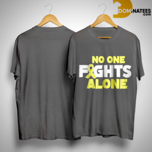 Rob Gronkowski Retirement No One Fights Alone Shirt