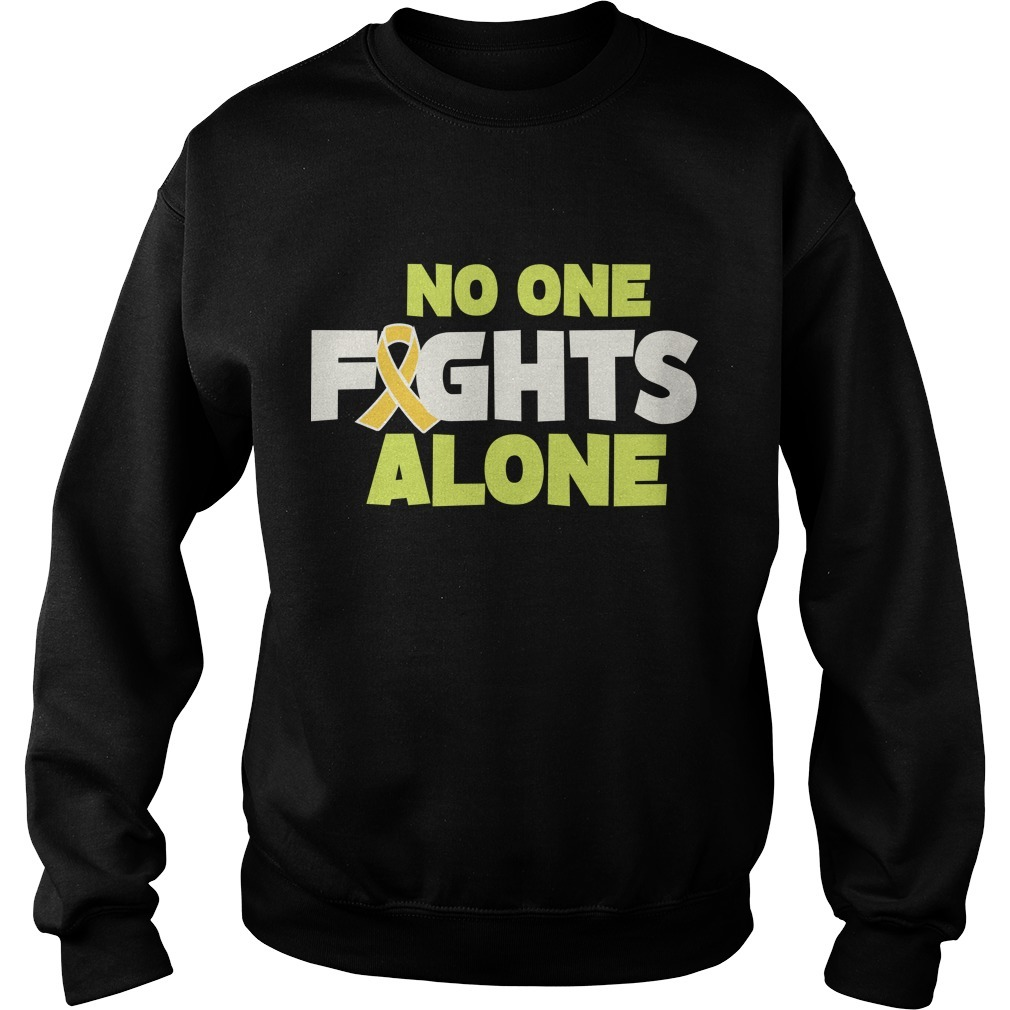 Rob Gronkowski Retirement No One Fights Alone Sweater