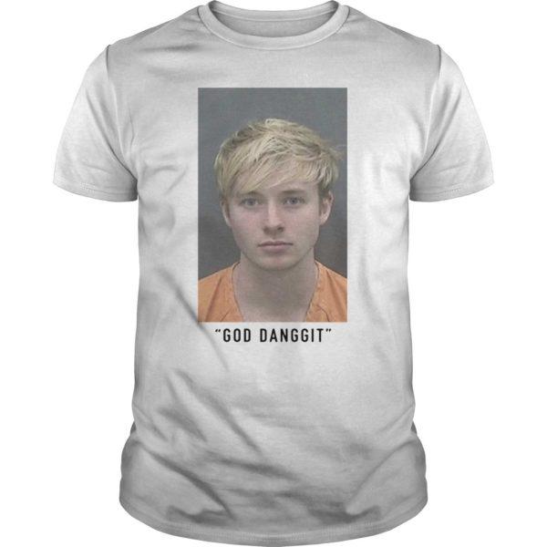 Sam Golbach Mugshot God Danggit Shirt