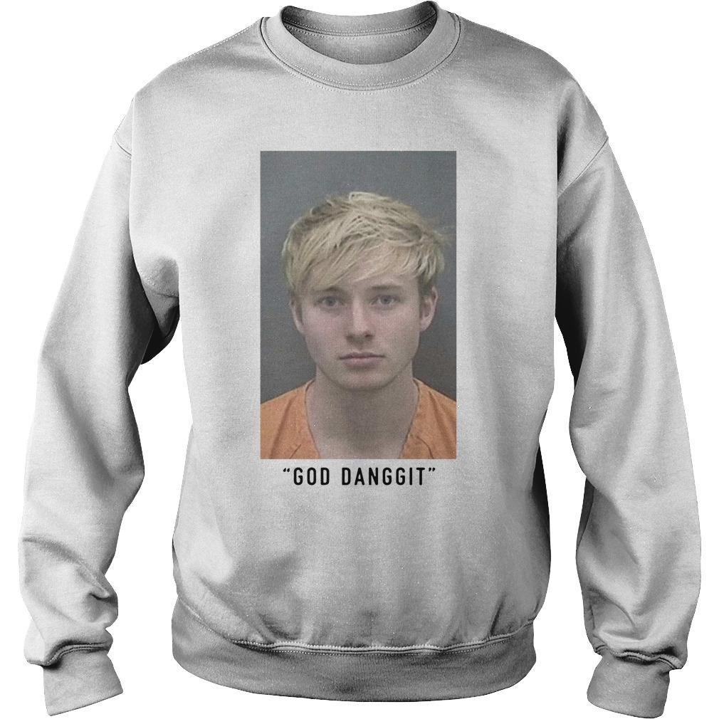 Sam Golbach Mugshot God Danggit Sweater