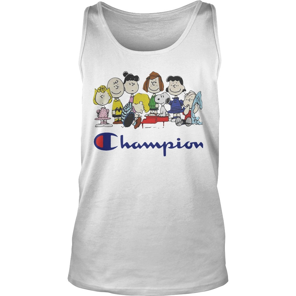 Snoopy And Friends Champion Peanuts Tank Top