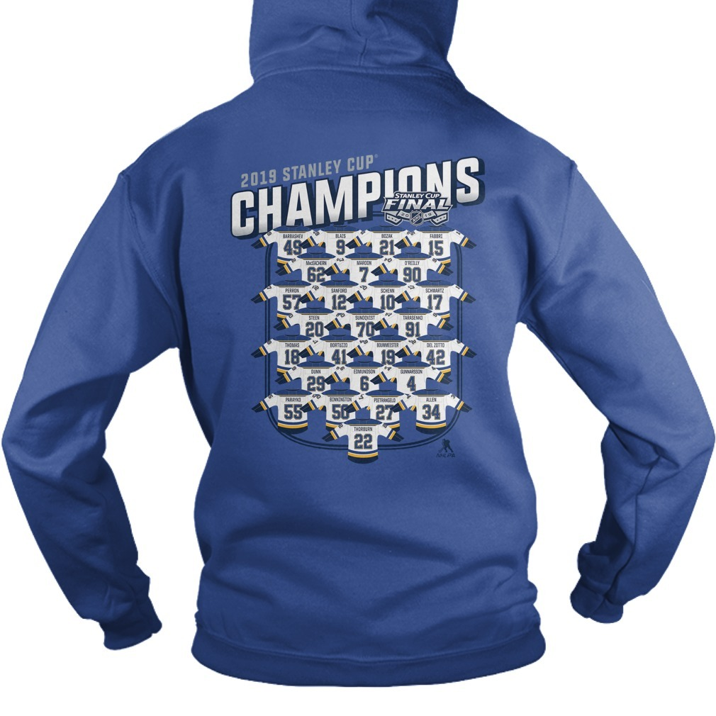 St Louis Blues Championship back Sweater