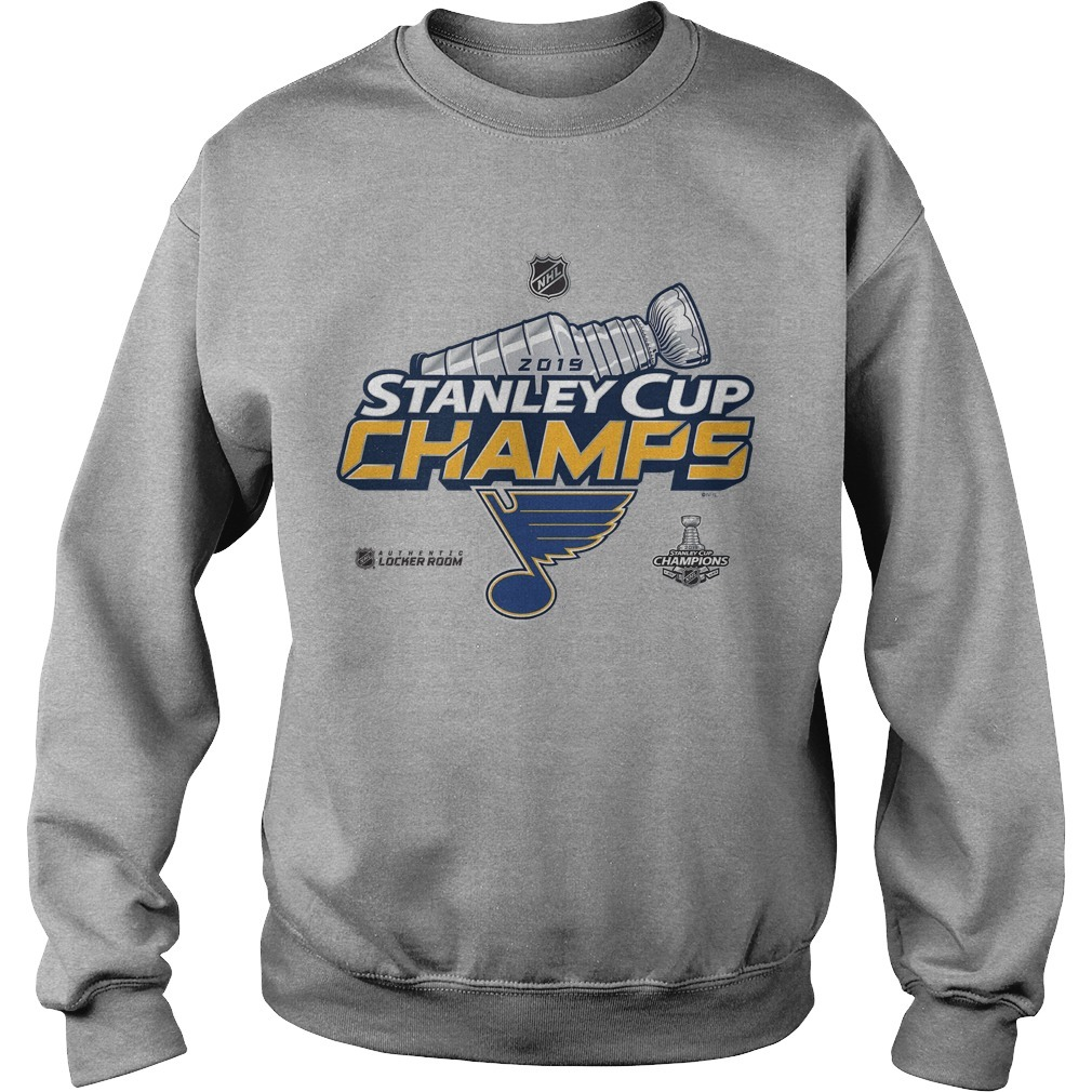 St Louis Blues Stanley Cup Sweater