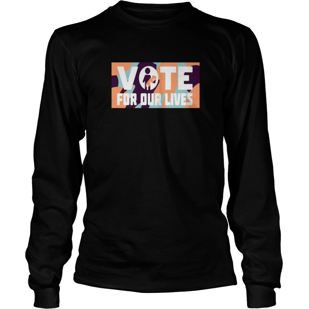 Steve Kerr Vote For Our Lives Long Sleeve tee