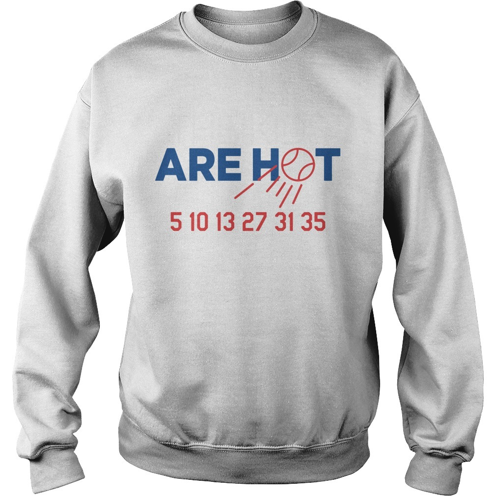 The Kids Are Hot 5 10 13 27 31 35 Sweater