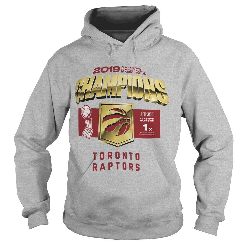 Toronto Raptors Owl Champs Hoodie