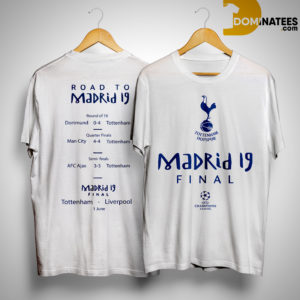 Tottenham Champions League Road To Madrid 19 Shirt