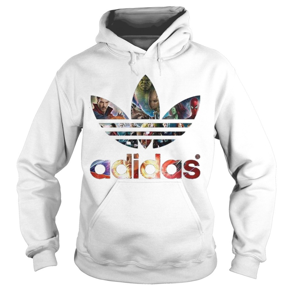 Adidas Avengers Marvel All Characters Hoodie