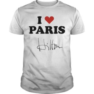 Celine Dion I Heart Paris Hilton Shirt
