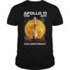 Charlie And Snoopy Apollo 11 1969 2019 50th Anniversary Shirt