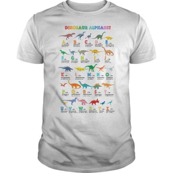Dinosaur Alphabet Shirt