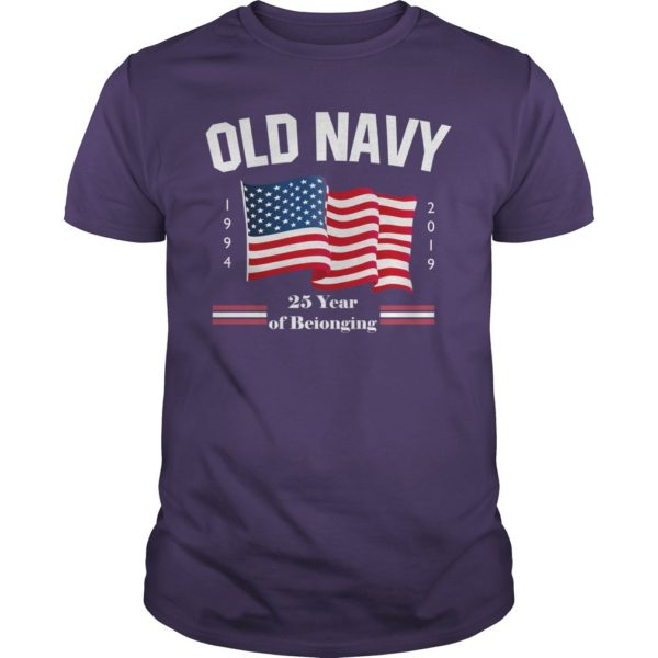 Fourth of July Old Navy Purple Shirt