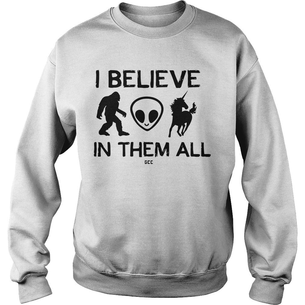 I Believe In Them All Sweater