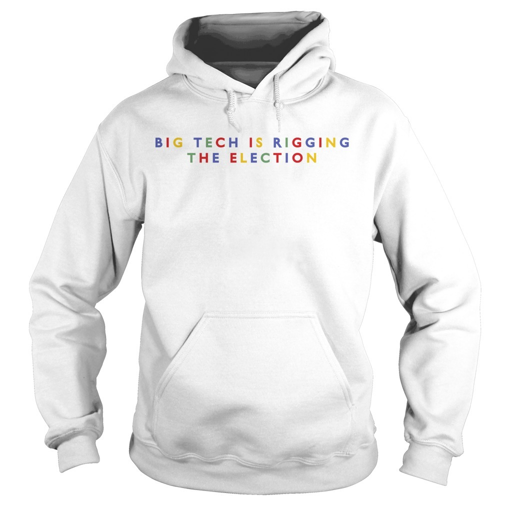 Jack Posobiec Big Tech Is Ringing The Election Hoodie
