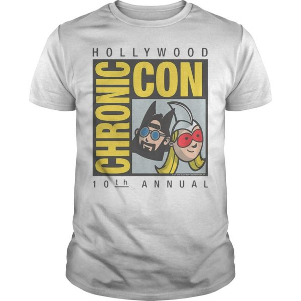 Jay And Silent Bob 10th Annual Hollywood Chronic Con T Shirt