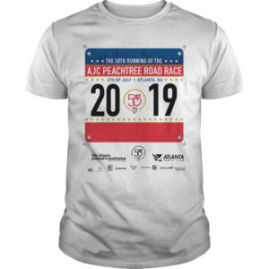 Peachtree Road Race T Shirt 2019