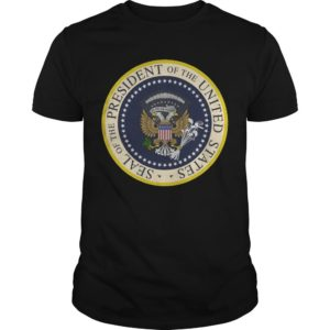 Photoshopped Trump's Presidential Seal Shirt